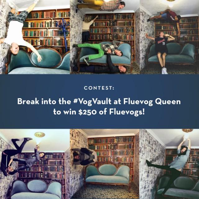 Break into the #VogVault Contest