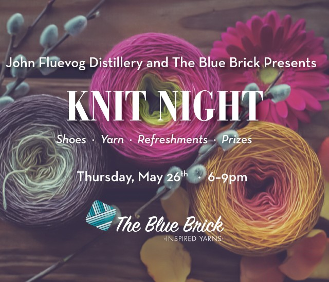 Knit Night at The Distillery ft The Blue Brick