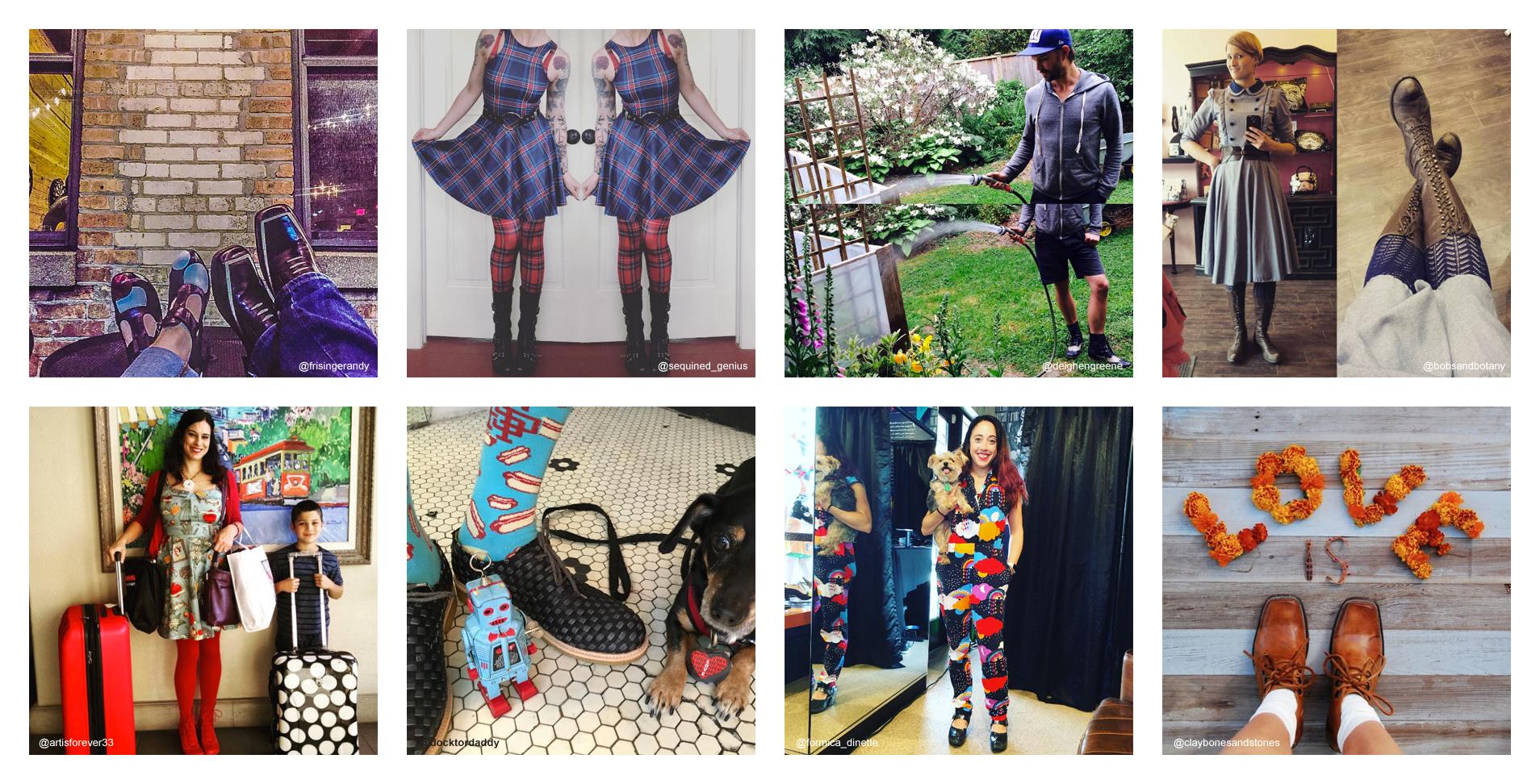 #fluevogday-outfits