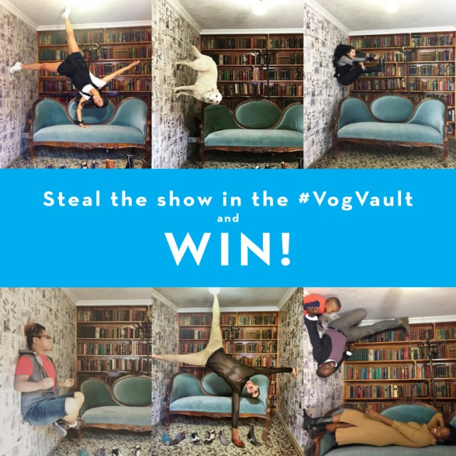 Steal the show in the #VogVault and WIN!