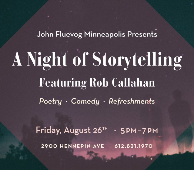 A Night of Storytelling at Fluevog Minneapolis
