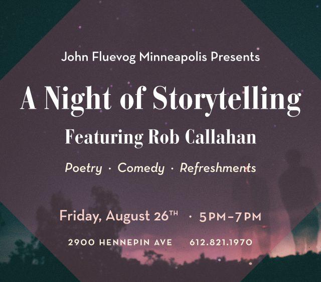 A Night of Storytelling at Fluevog Minneapolis