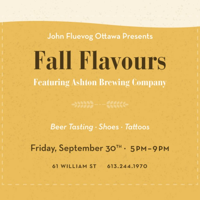 Fall Flavours in Ottawa