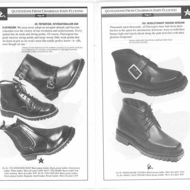 Way Back Wednesday: Quotations from Chairman John Fluevog