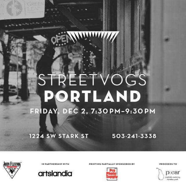 A Streetvogs Show at Fluevog Portland