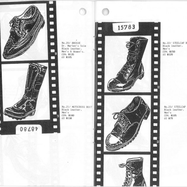 Way Back Wednesday: The Fluevog Report