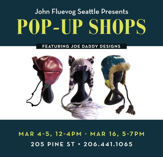 Joe Daddy Designs Pop-up Shops in Seattle