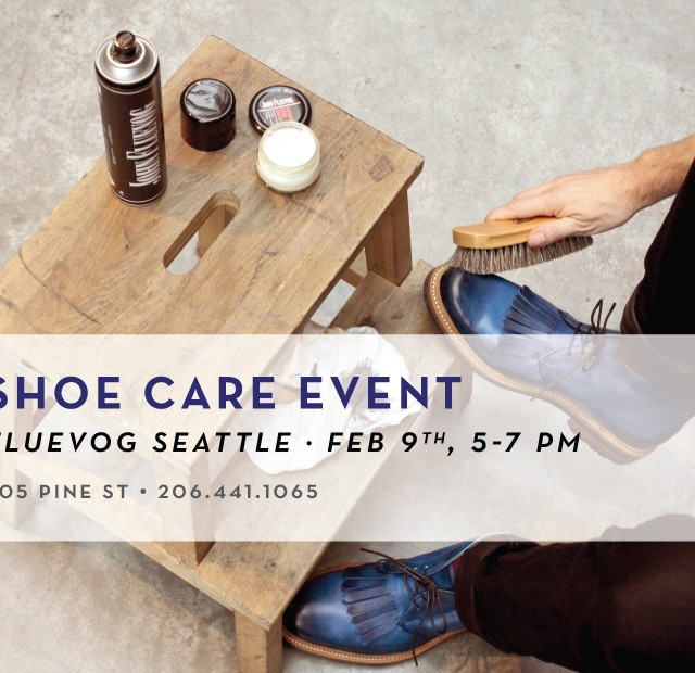 Shoe Care Event in Seattle