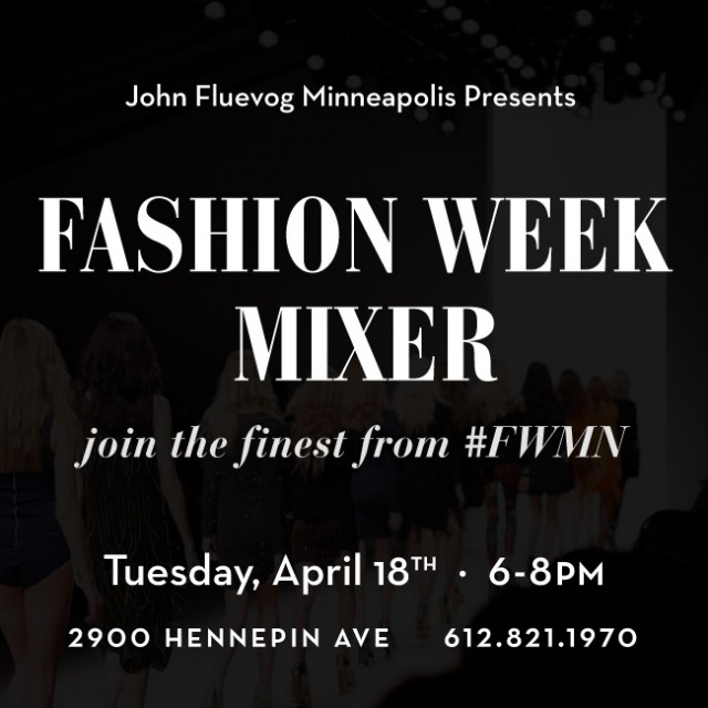 Fashion Week Mixer in Minneapolis