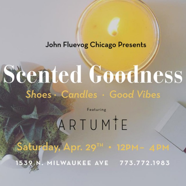 Artumie Candles Pop-up Shop in Chicago!