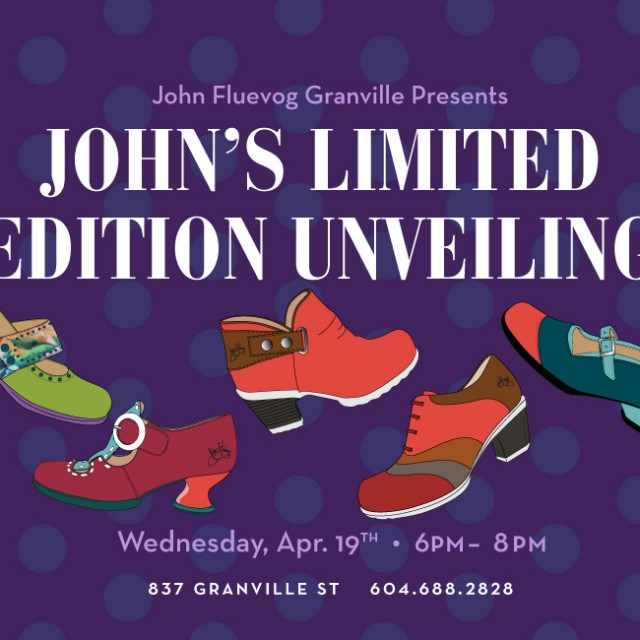 John's Limited Edition Unveiling in Vancouver!