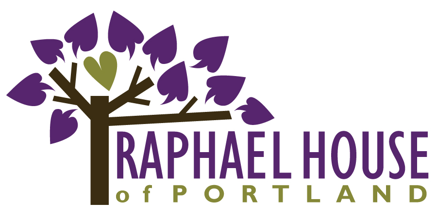 Raphael House logo 3 inch