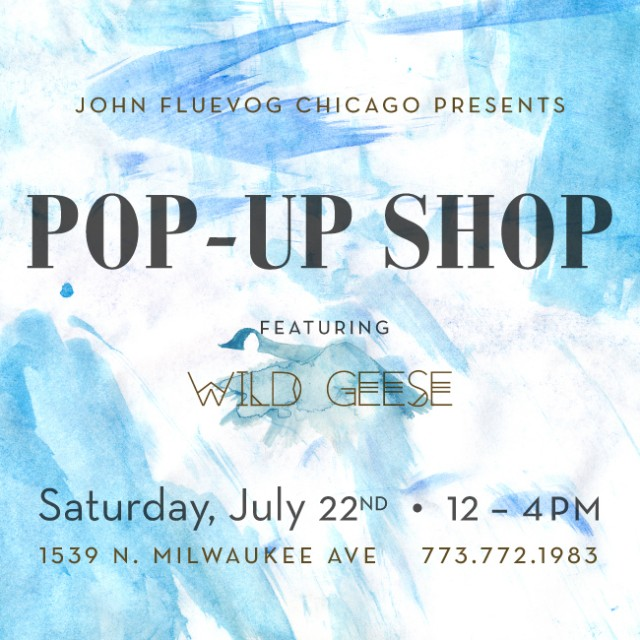 Wild Geese Pop-up Shop in Chicago