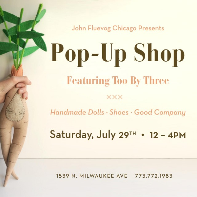 Too by Three Pop-up Shop in Chicago