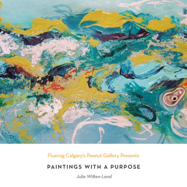 Paintings with a Purpose at the Peanut Gallery
