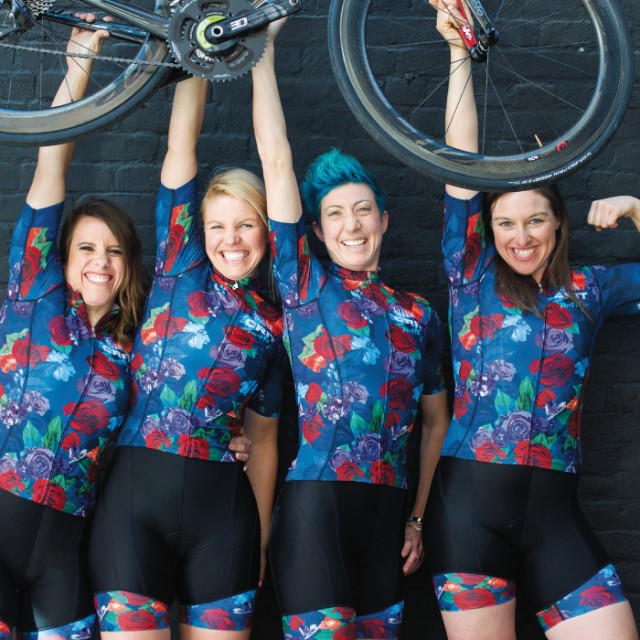 Joy riding: The Crit Nasty Girls