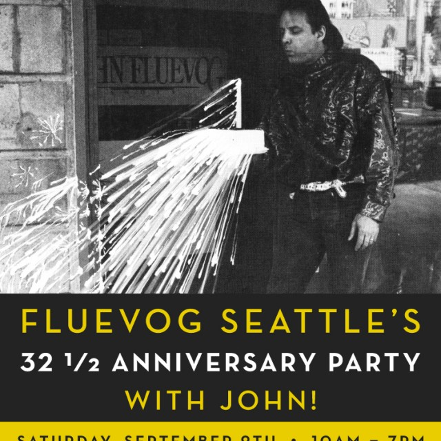 Fluevog Seattle's 32 ½ Anniversary Party with John!