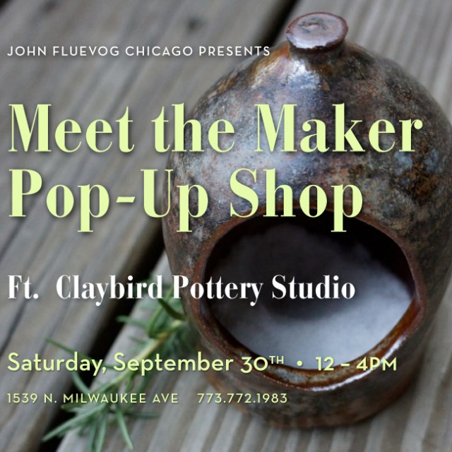 Meet the Maker Pop-up Shop ft. Claybird Pottery