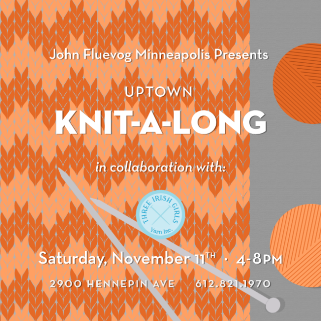 Knit-a-long in Minneapolis