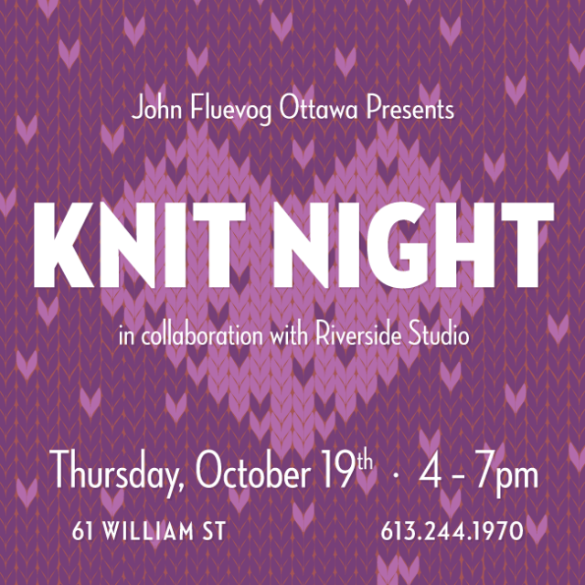Knit Night in Ottawa
