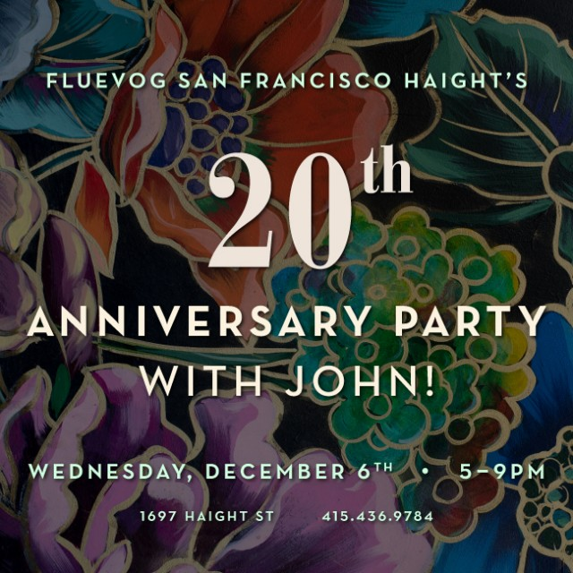 Fluevog San Francisco Haight's 20th Anniversary Party with John!