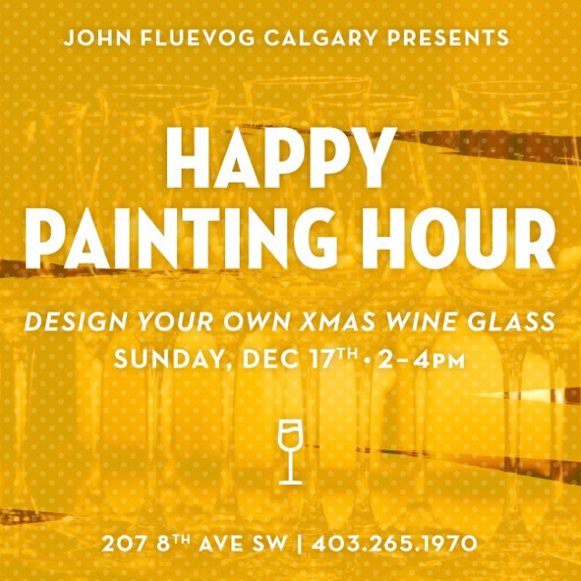 Happy Painting Hour in Calgary