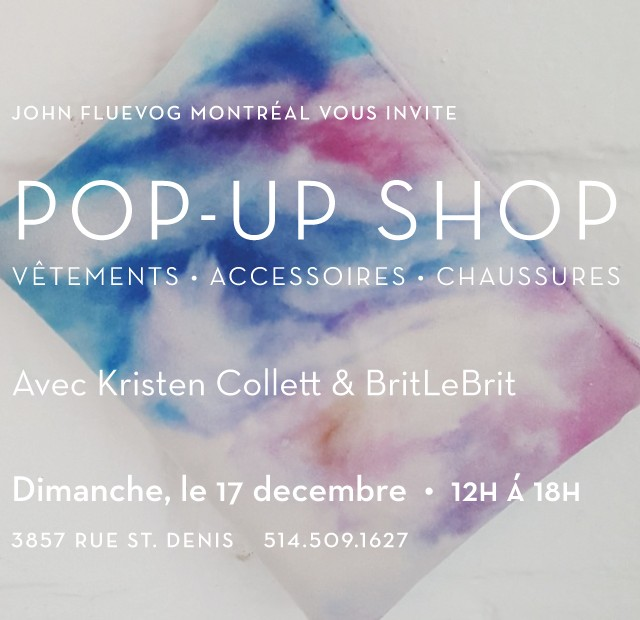 Pop-up shop avec Kristen Collett & BritLeBrit