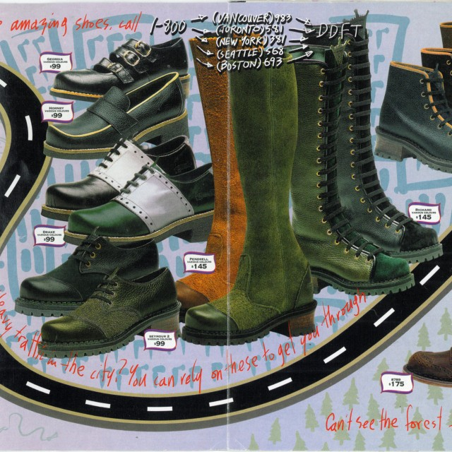 Way Back Wednesday: John Fluevog's Fall '94 Catalogue