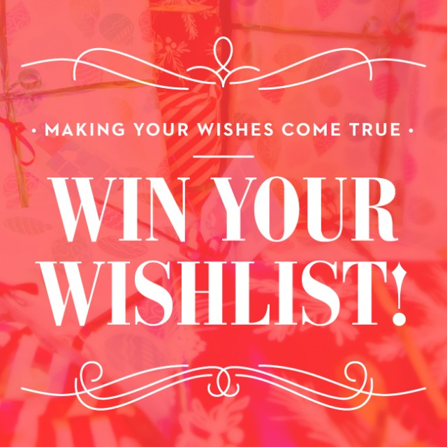 Win Your Wishlist Contest