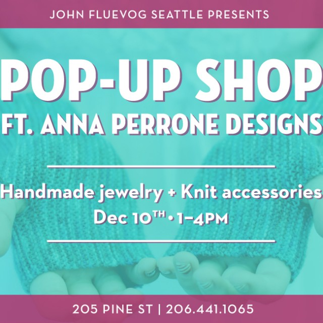 Knit & Jewelry Pop-up Shop in Seattle