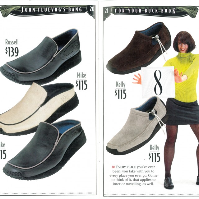 Way Back Wednesday: John Fluevog's Bang For Your Buck Book
