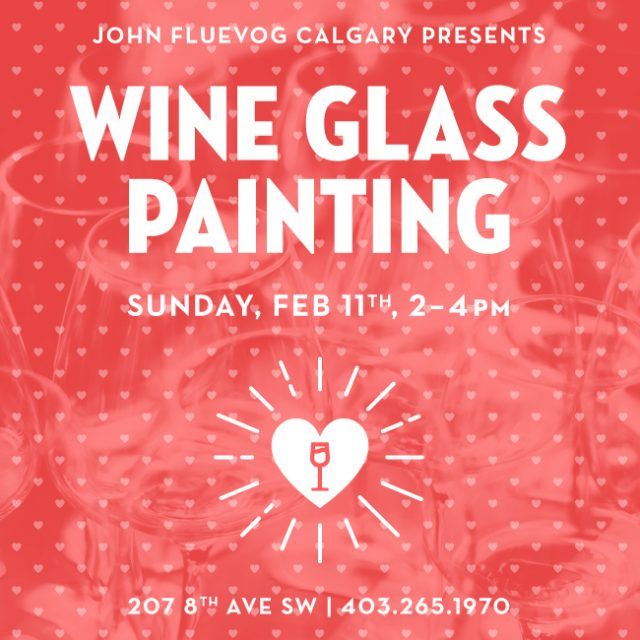 Wine Glass Painting in Calgary