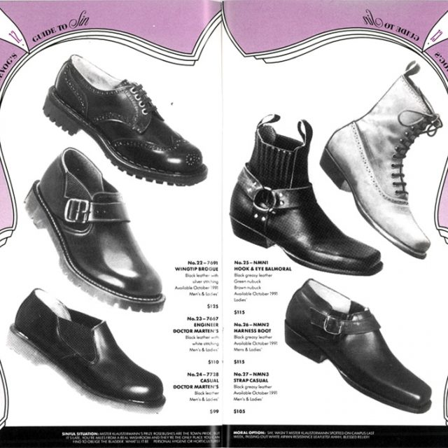 Way Back Wednesday: John Fluevog's Guide to Sin