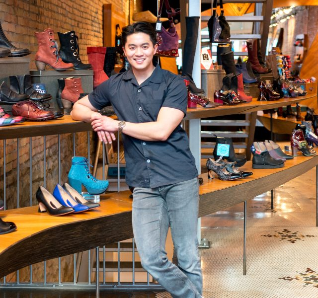 Fluevog Post Interview: Adrian in Calgary