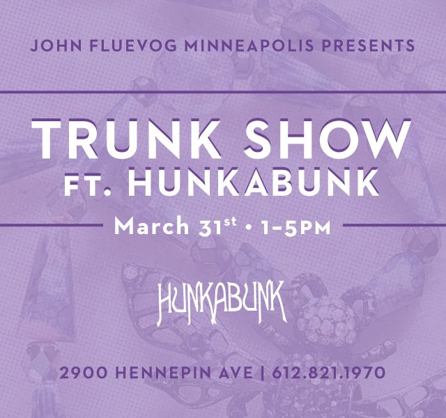 Hunkabunk Trunk Show in Minneapolis