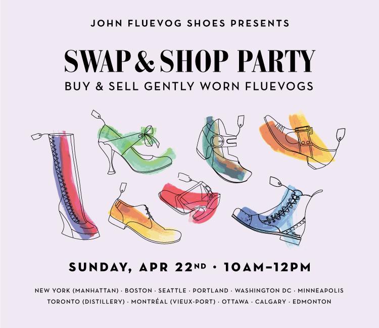 Fluevog Shoes - Swap \u0026 Shop Party