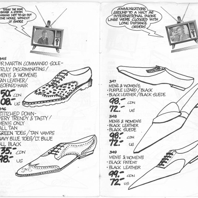Way Back Wednesday: John Fluevog Brings You The National Shoes