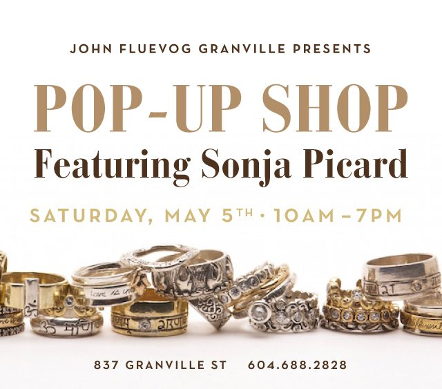 Sonja Picard Pop-up Shop at Granville