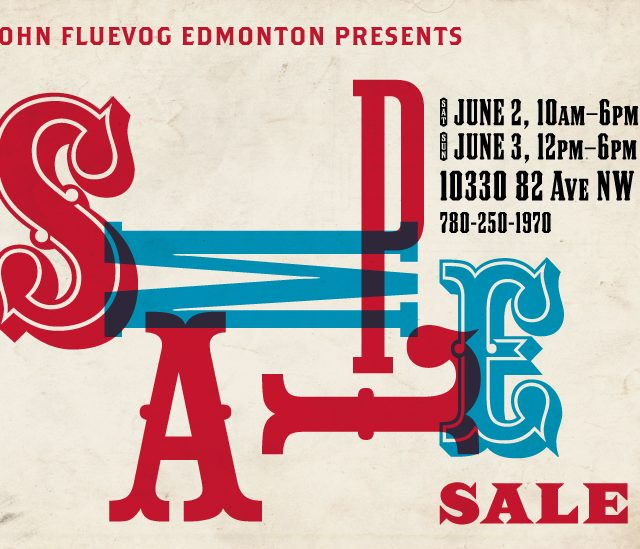Fluevog Sample Sale in Edmonton!