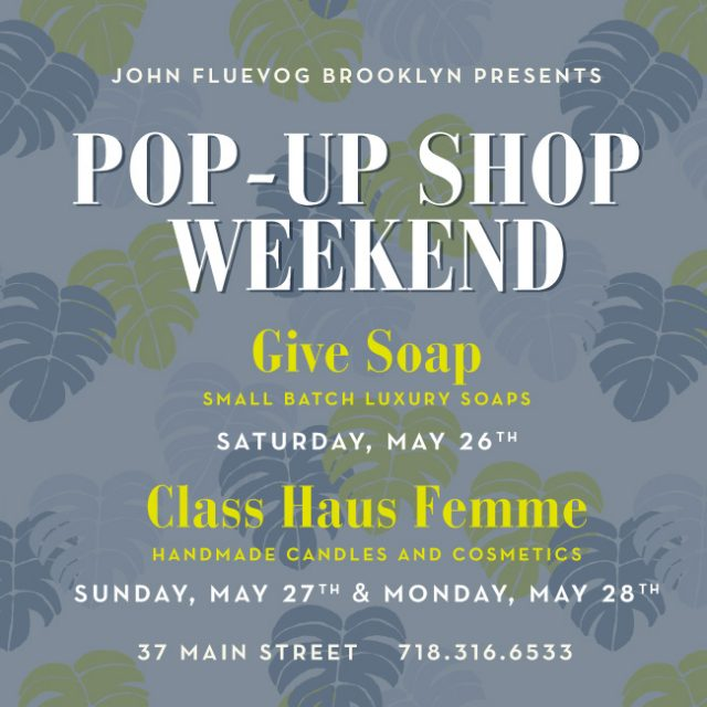 Pop-up Shop Weekend in Brooklyn