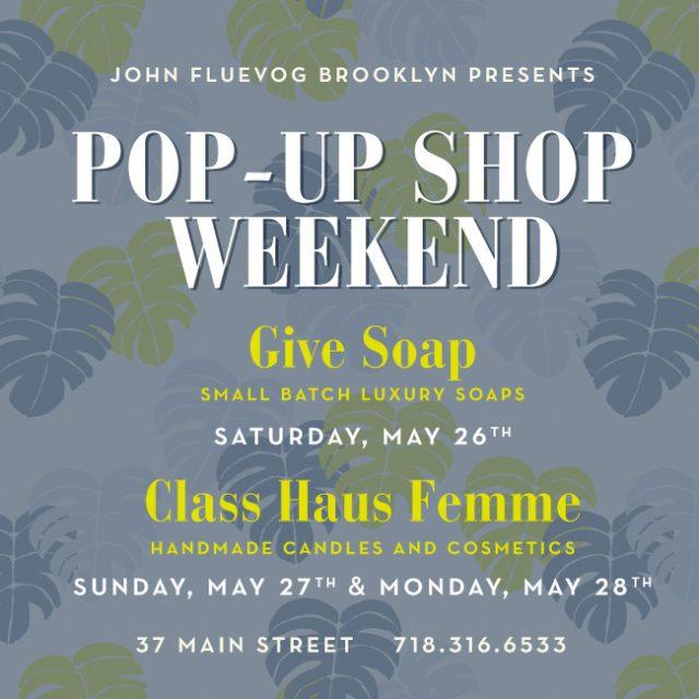 Pop-up Shop Weekend in Brooklyn