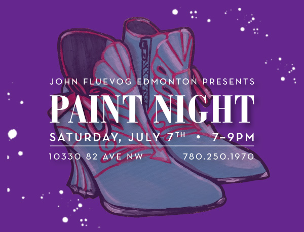 Paint Night in Edmonton!