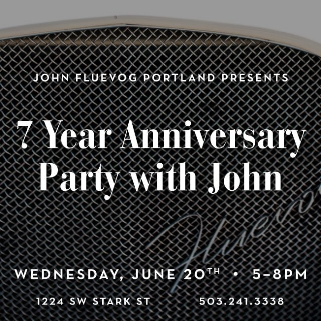 Portland's 7 Year Anniversary Party with John!