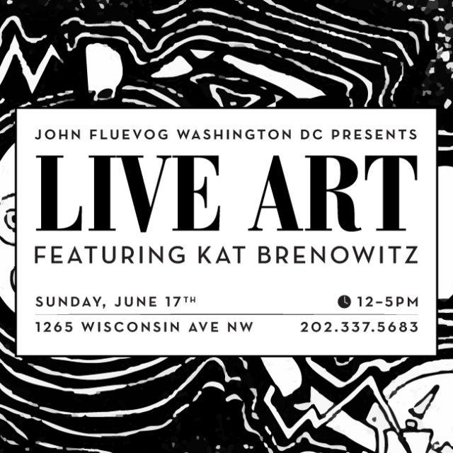 Live Art in DC ft. Kat Brenowitz