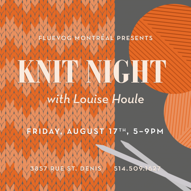 Knit Night in Montréal