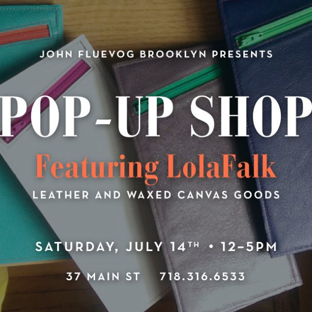LolaFalk Pop-up Shop in Brooklyn