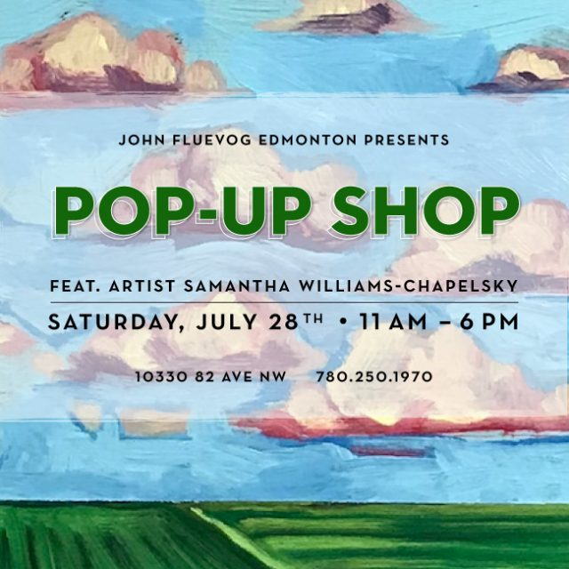 Fluevog Edmonton Pop-up Shop ft. Samantha Williams-Chapelsky