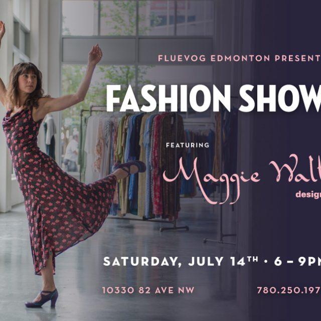 Maggie Walt Design Fashion Show in Edmonton!