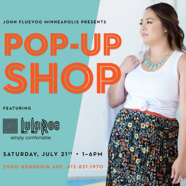LuLaRoe Pop-up Shop in Uptown!
