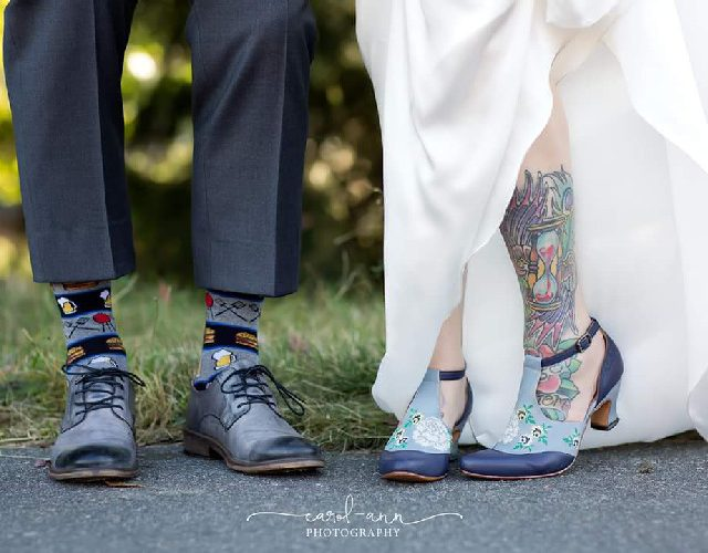 Walk with love: Kim & Byron